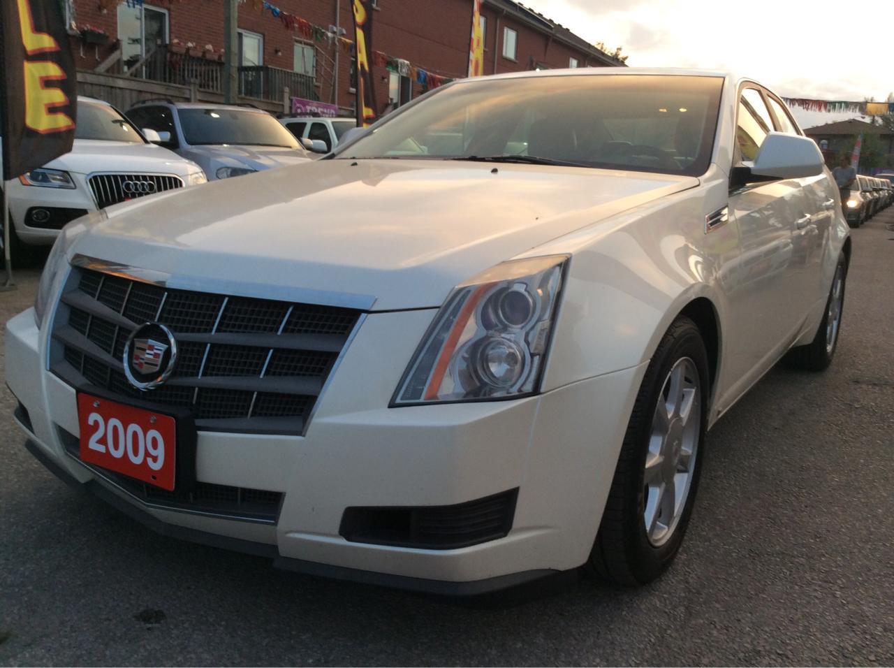 2009 Cadillac CTS w/1SA/Bluetooth/Leather Seats/Heated Seats/Power S