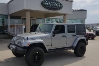 Used 2016 Jeep Wrangler AUTO / LIFTED / RIMS / NO PAYMENTS FOR 6 MONTHS for sale in Tilbury, ON