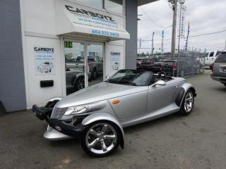 Used 2001 Chrysler Prowler Convertible, Leather, Immaculate!! for sale in Langley, BC