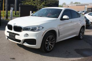 Used 2016 BMW X6 xDrive35i M-SPORT |NAVI|BLINDSPOT|360CAM|HEADSUP for sale in North York, ON