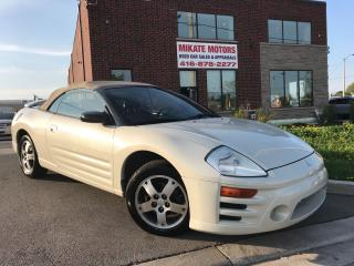 Used 2004 Mitsubishi Eclipse Spyder GS for sale in Etobicoke, ON