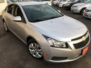Used 2012 Chevrolet Cruze LT Turbo w/1SA/4-CYLINDER/LOADED/AUTO W TIPTRONIC! for sale in Scarborough, ON