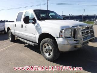 Used 2006 Ford F250SD LARIAT CREW CAB 4WD for sale in Calgary, AB