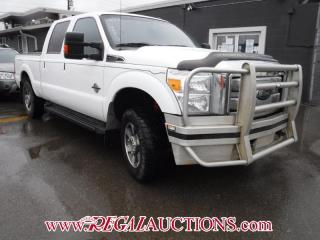 Used 2013 Ford F250 S/D LARIAT CREW CAB 4WD for sale in Calgary, AB