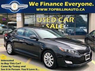 Used 2014 Kia Optima EX Luxury, Navi, Pano Roof, Backup Camera for sale in Concord, ON
