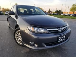 Used 2011 Subaru Impreza 4dr Sdn Man 2.5i w/Limited Pkg, Sunroof, Accident Free, Man for sale in Oakville, ON