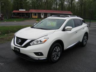 Used 2016 Nissan Murano SL AWD for sale in Smiths Falls, ON