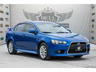 Used 2015 Mitsubishi Lancer SUNROOF~TRACTION CONTROL~HEATED SEATS for sale in North York, ON