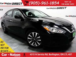 Used 2017 Nissan Altima 2.5 SV| SUNROOF| BACK UP CAMERA| PUSH START| for sale in Burlington, ON