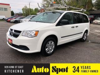 Used 2011 Dodge Grand Caravan CARGO VAN/LOW, LOW KMS/PRICED-QUICK SALE! for sale in Kitchener, ON