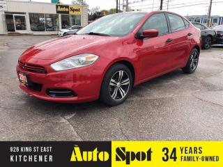 Used 2013 Dodge Dart SE/1 OWNER/LOW,LOW KMS/PRICED - QUICK SALE ! for sale in Kitchener, ON