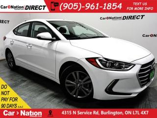 Used 2018 Hyundai Elantra SE| BLIND SPOT DETECTION| SUNROOF| for sale in Burlington, ON