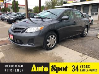 Used 2013 Toyota Corolla LE/LOW, LOW KMS/PRICED-QUICK SALE! for sale in Kitchener, ON