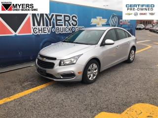 Used 2016 Chevrolet Cruze LT for sale in Ottawa, ON