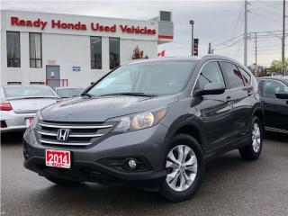 Used 2014 Honda CR-V EX AWD - Sunroof - Alloys - Rear Camera for sale in Mississauga, ON