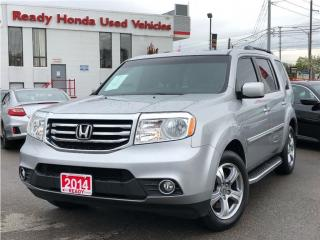 Used 2014 Honda Pilot EX-L - Leather - Sunroof - Running boards for sale in Mississauga, ON