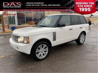 Used 2008 Land Rover Range Rover HSE NAVIGATION/REAR VIEW CAMERA for sale in North York, ON