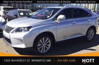 Used 2015 Lexus RX 350 Touring with Navigation! for sale in Winnipeg, MB