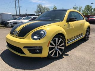 Used 2014 Volkswagen Beetle 2.0 TSI Sportline NAV LEATHER MOONROOF for sale in St Catharines, ON