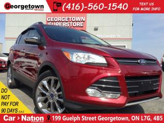 Used 2016 Ford Escape SE | NAVI | BACK UP CAM | LEATHER TRIM | for sale in Georgetown, ON