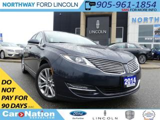 Used 2014 Lincoln MKZ HYBRID | NAV | REAR CAM | LOW KM | for sale in Brantford, ON