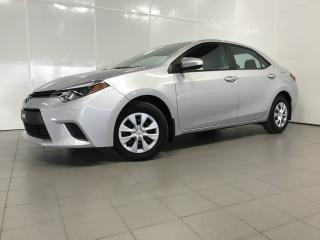 Used 2014 Toyota Corolla LE berline 4 portes CVT for sale in Pointe-aux-trembles, QC