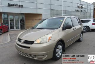 Used 2004 Toyota Sienna LE 7 Passenger Super Saver, No Accidents, ASIS for sale in Unionville, ON