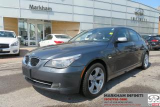 Used 2008 BMW 535 xi MT, AWD, Sport line, Navi,  Leather, Sunroof for sale in Unionville, ON