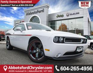 Used 2014 Dodge Challenger R/T *LOCALLY DRIVEN* for sale in Abbotsford, BC