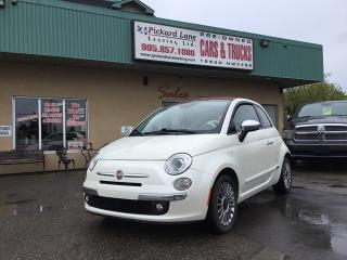 Used 2013 Fiat 500 C Lounge for sale in Bolton, ON
