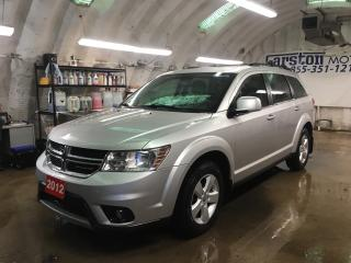 Used 2012 Dodge Journey SXT*7 PASSENGER*V6*KEYLESS ENTRY*PUSH BUTTON IGNITION*CRUISE CONTROL*TRI ZONE CLIMATE CONTROL w/REAR AIR CONTROL* for sale in Cambridge, ON