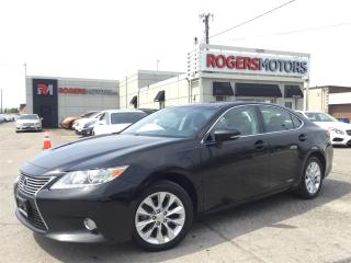 Used 2014 Lexus ES 300 HYBRID - LEATHER - SUNROOF - REVERSE CAM for sale in Oakville, ON