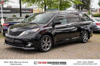 Used 2015 Toyota Sienna SE 8-pass V6 6A for sale in Vancouver, BC