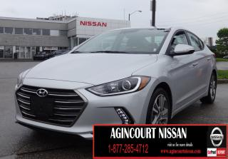 Used 2018 Hyundai Elantra GLS |APPLE CARPLAY|LEATHER|BLIND SPOT|SUNROOF| for sale in Scarborough, ON