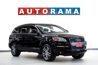 Used 2014 Audi Q7 NAVIGATION LEATHER SUNROOF 7 PASS AWD for sale in North York, ON