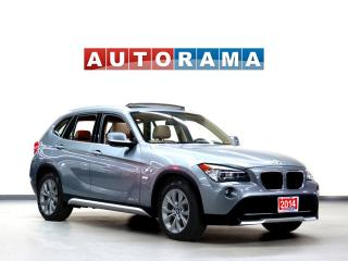 Used 2014 BMW X1 NAVIGATION LEATHER PANORAMIC SUNROOF 4WD BLUETOOTH for sale in North York, ON
