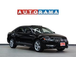 Used 2012 Volkswagen Passat TDI HIGHLINE NAVIGATION LEATHER SUNROOF BACKUP CAM for sale in North York, ON