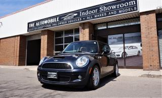 Used 2009 MINI Cooper S MANUAL LEATHER PANO ROOF NO ACCIDENT for sale in Mississauga, ON