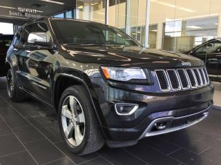 Used 2014 Jeep Grand Cherokee OVERLAND, NAVI, 4WD, ACCIDENT FREE for sale in Edmonton, AB