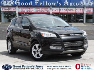 Used 2015 Ford Escape SE MODEL, 4WD, LEATHER SEATS, NAVIGATION for sale in North York, ON
