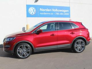 Used 2015 Lincoln MKC AWD LUXURY - NAV - HEATED LEATHER for sale in Edmonton, AB