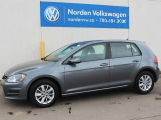 Used 2016 Volkswagen Golf 5DR TRENDLINE AUTOMATIC - VW CERTIFIED for sale in Edmonton, AB