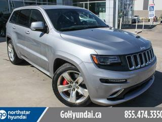Used 2015 Jeep Grand Cherokee SRT 8 LEATHER/SUNROOF/NAV/BACKUP CAM/ for sale in Edmonton, AB