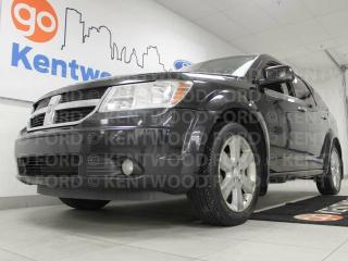 Used 2009 Dodge Journey RT, sunroof, power leather seats, rear climate control and dvd entertainment system for sale in Edmonton, AB