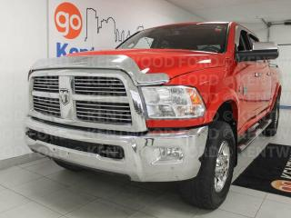 Used 2011 Dodge Ram 3500 Laramie 4x4 high output turbo diesel, heated leather seats all around, power drivers seat, sunroof, heated steering wheel, NAV and much much more for sale in Edmonton, AB