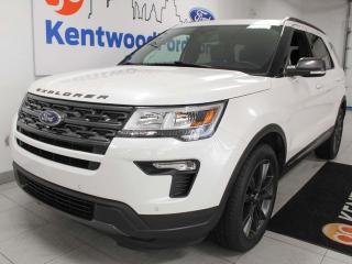 Used 2018 Ford Explorer XLT 4WD with NAV, heated power leather seats, push start/stop, back up cam for sale in Edmonton, AB