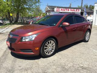 Used 2012 Chevrolet Cruze 6 Speed Manual/Good KM/Gas Saver/Certified for sale in Scarborough, ON