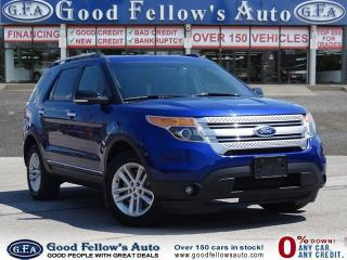 Used 2014 Ford Explorer 4WD, 7 PASSENGER, REARVIEW CAMERA, HEATED SEATS for sale in North York, ON