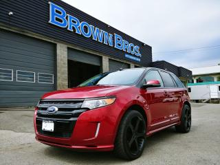 Used 2013 Ford Edge SPORT, AWD, PANA ROOF, NAVIGATION, LEATHER for sale in Surrey, BC