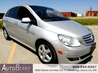 Used 2007 Mercedes-Benz B-Class B200 - 2.0L for sale in Woodbridge, ON